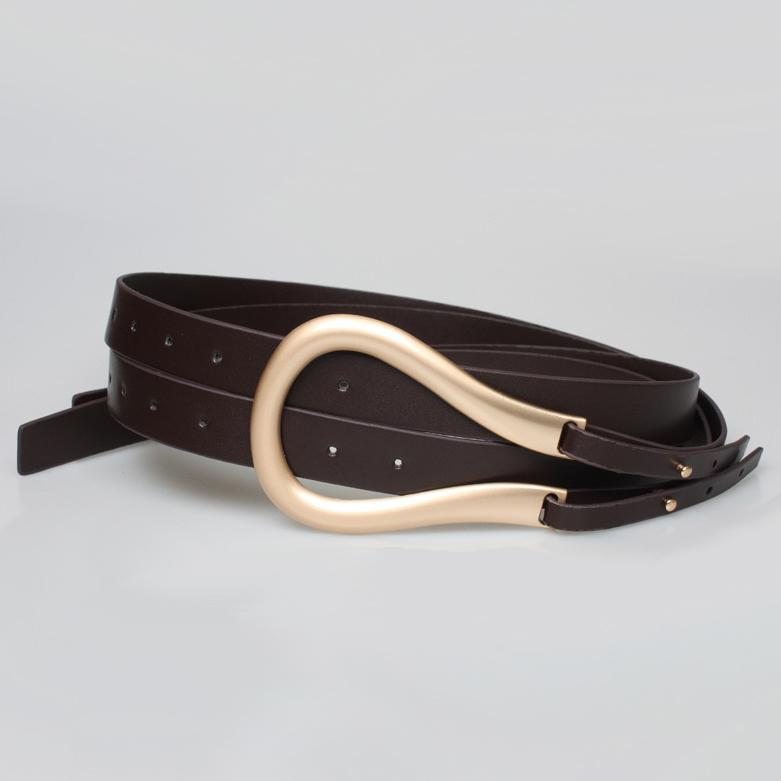 PL ULoox Belt Belt Posh Loox Brown 125CM / 49.22IN poshloox