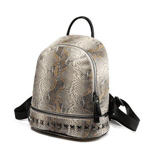 Python Backpack Posh Loox Brown poshloox