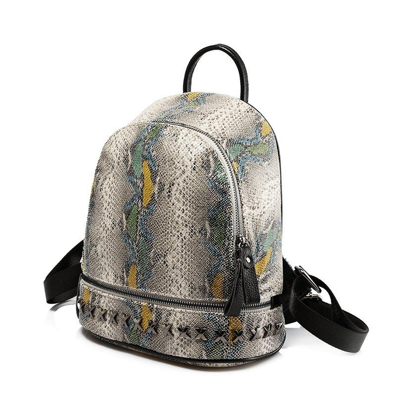 Python Backpack Posh Loox Green poshloox