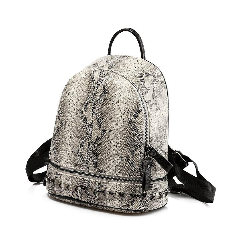 Python Backpack Posh Loox Grey poshloox