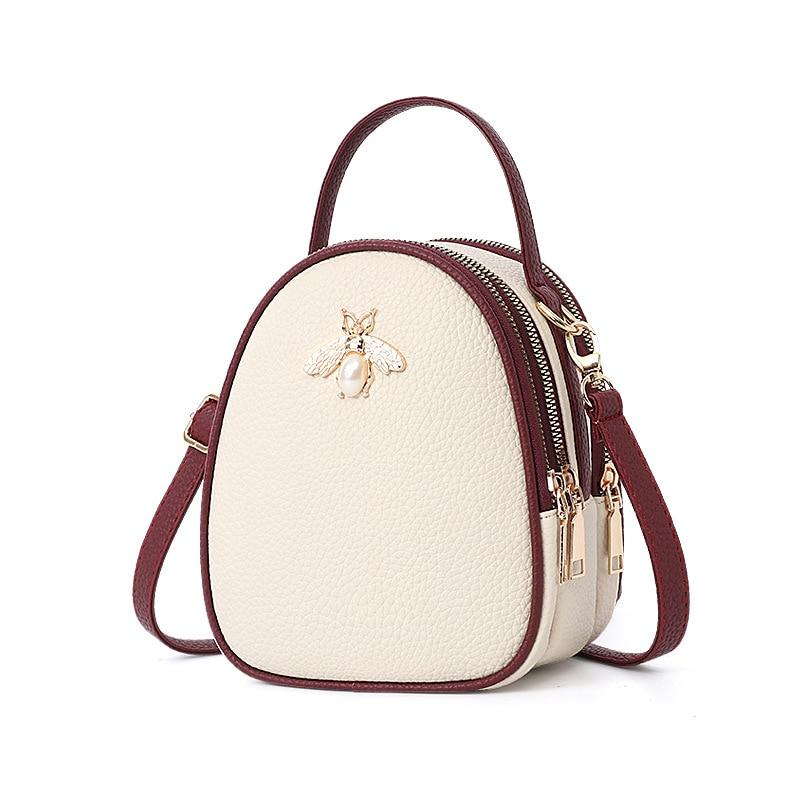 Queen Bee Backpack Posh Loox Beige x Rosewood poshloox