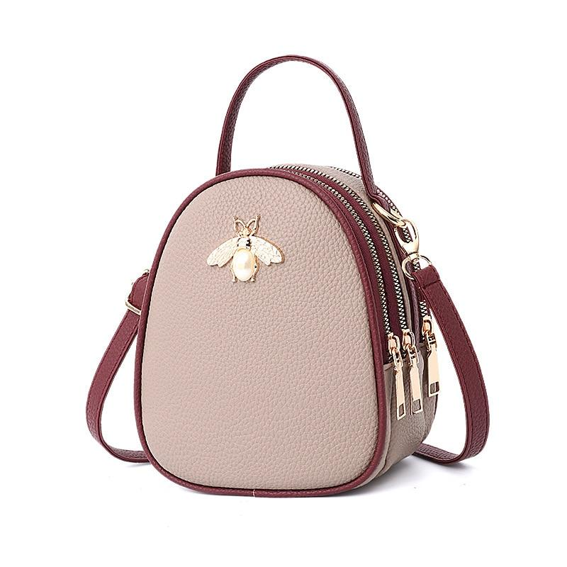 Queen Bee Backpack Posh Loox Khaki x Rosewood poshloox
