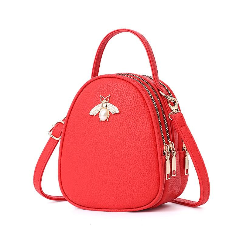 Queen Bee Backpack Posh Loox Red poshloox