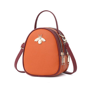 Queen Bee Backpack Posh Loox Tangerine x Rosewood poshloox