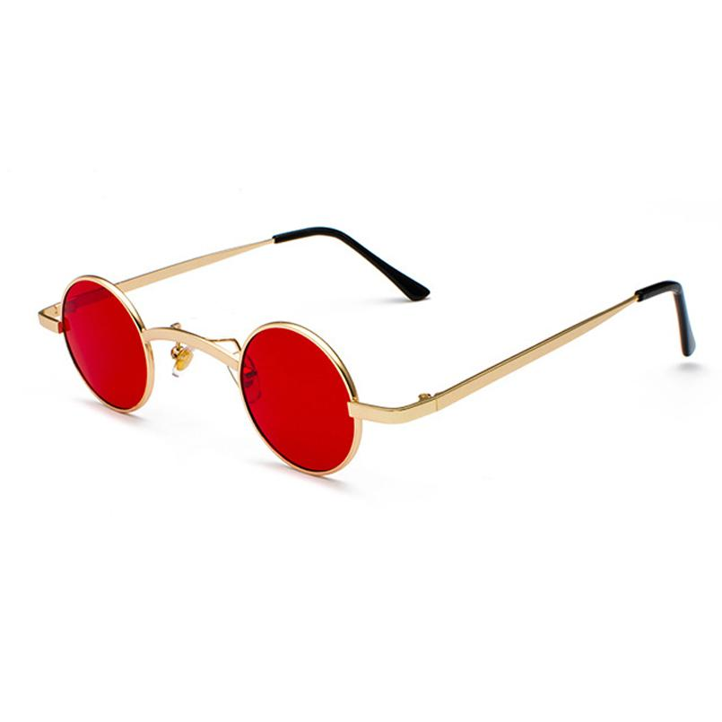 Retro Loox Sunglasses Sunglasses Posh Loox Gold x Red poshloox