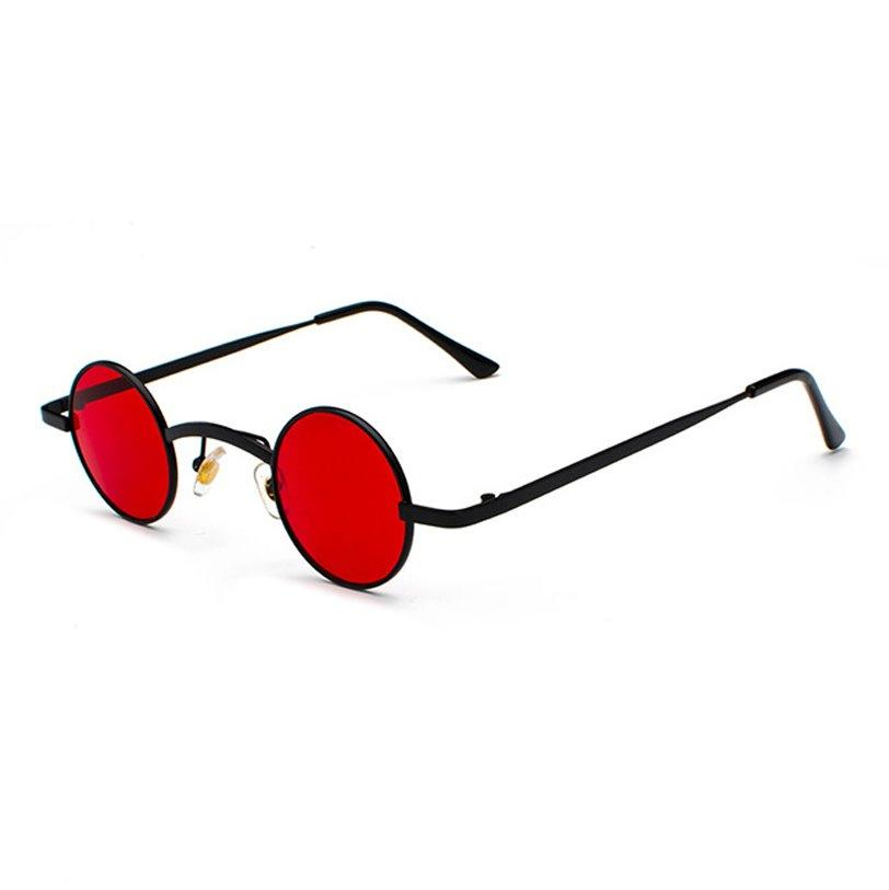 Retro Loox Sunglasses Sunglasses Posh Loox Red x Black poshloox