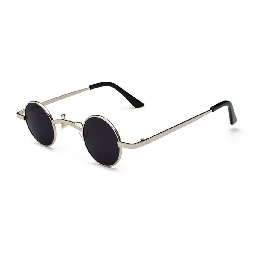 Retro Loox Sunglasses Sunglasses Posh Loox Silver x Black poshloox