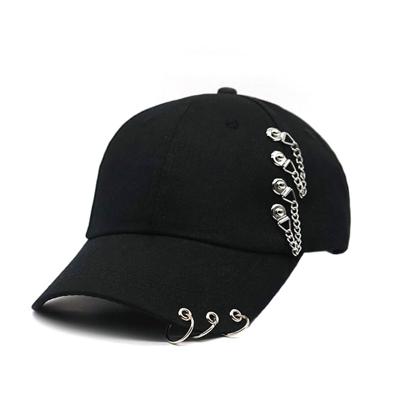 Rock Star Cap Hat Posh Loox Black Adjustable poshloox