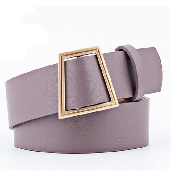 Slim Square Belt Belt Posh Loox Mauve 100CM / 39.38IN poshloox