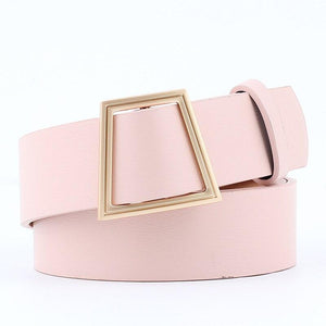 Slim Square Belt Belt Posh Loox Pink 100CM / 39.38IN poshloox