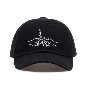 Stoner Cap Hat Posh Loox Black Adjustable poshloox