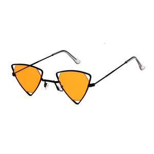 Triangle Loox Sunglasses Sunglasses Posh Loox Black x Orange poshloox