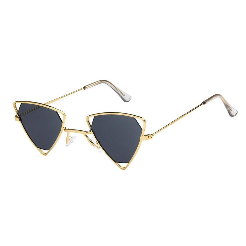 Triangle Loox Sunglasses Sunglasses Posh Loox Gold x Grey poshloox