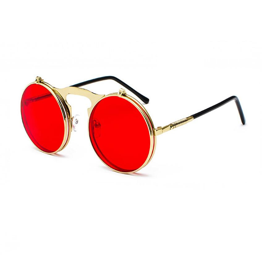 Vintage Loox Sunglasses Sunglasses Posh Loox Gold x Red poshloox
