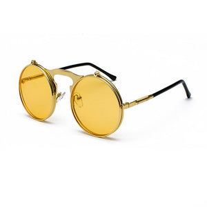 Vintage Loox Sunglasses Sunglasses Posh Loox Gold x Yellow poshloox