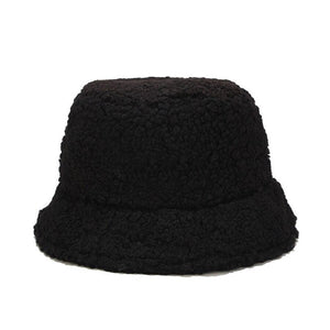Wool Bucket Hat Hat Posh Loox Black poshloox