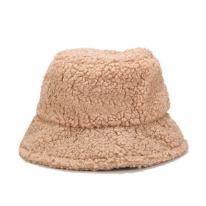 Wool Bucket Hat Hat Posh Loox Peach poshloox