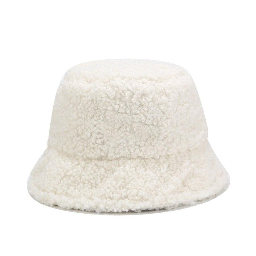 Wool Bucket Hat Hat Posh Loox White poshloox