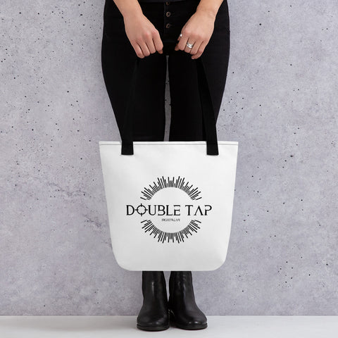Double Tap Tote Bag