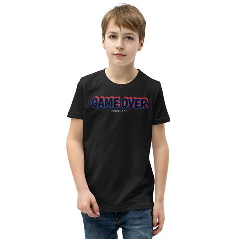 Double Tap Game Over Youth T-Shirt