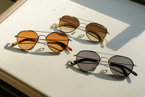 Garrett Leight California Optical San Miguel Aviator Sunglasses