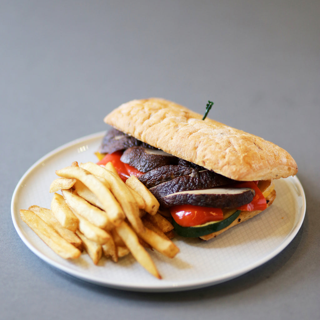 Grilled Portobello Sandwich (Vegetarian)