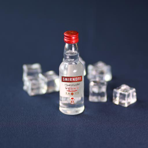 Smirnoff Vodka (50ml) with Mixer