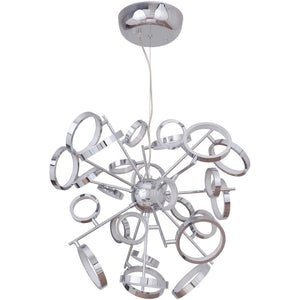 "28"" Chrome Chandelier - LV LIGHTING"
