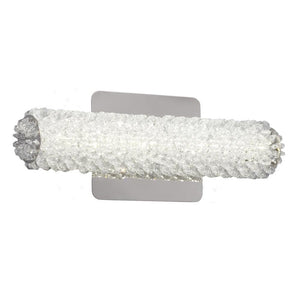 "13"" Crystal Dimmable Vanity Light - LV LIGHTING"
