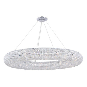 Chrome Chandelier with Crystal - LV LIGHTING
