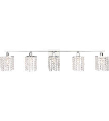 Chrome Wall sconce with Crystal - LV LIGHTING