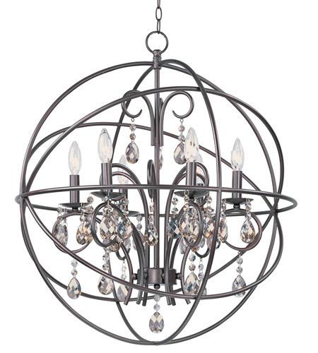 25 inch Bronze Chandelier Ceiling Light - LV LIGHTING