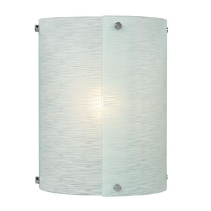 "11"" Chrome with Frosted Glass Wall Sconce - LV LIGHTING"