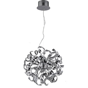 "19"" Chrome Pendant - LV LIGHTING"