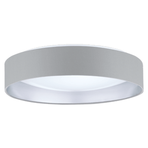 "16"" LED White Flush Mount - LV LIGHTING"