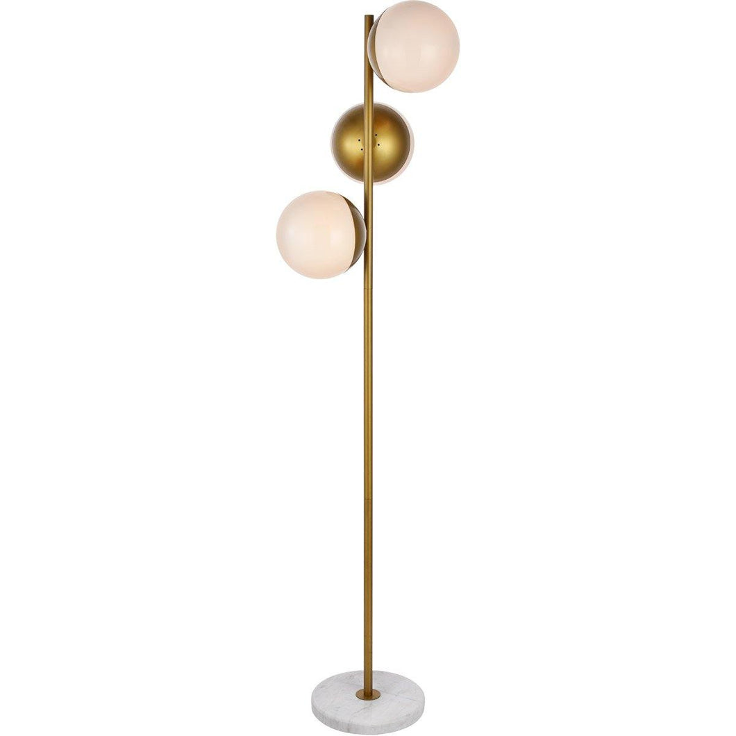 Matte Gold Floor Lamp 66