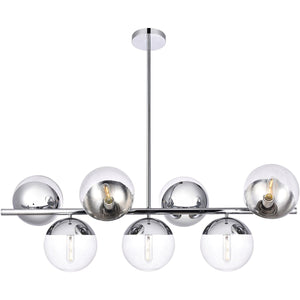 "18"" Chrome Pendant - LV LIGHTING"