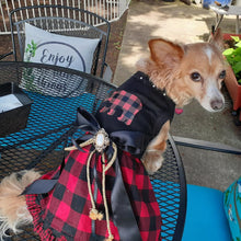"Load image into Gallery viewer, ""Into the Woods"" Doggie Dress"