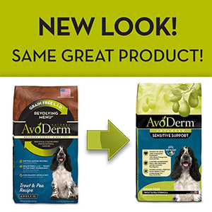 AvoDerm L.I.D. Sensitive Support Dry Dog Food, Healthy Skin And Coat, Trial Size
