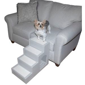 Pet Step 4 with Pet Den - Small Pets - Essential Grey