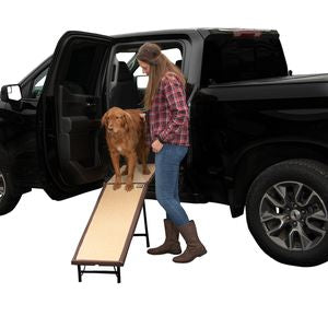 *NEW*  Ultra-Lite Free-Standing Ramp with Extension Panel  *NEW* Chocolate