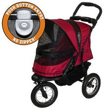Load image into Gallery viewer, Pet Gear Jogger NO-ZIP Pet Stroller