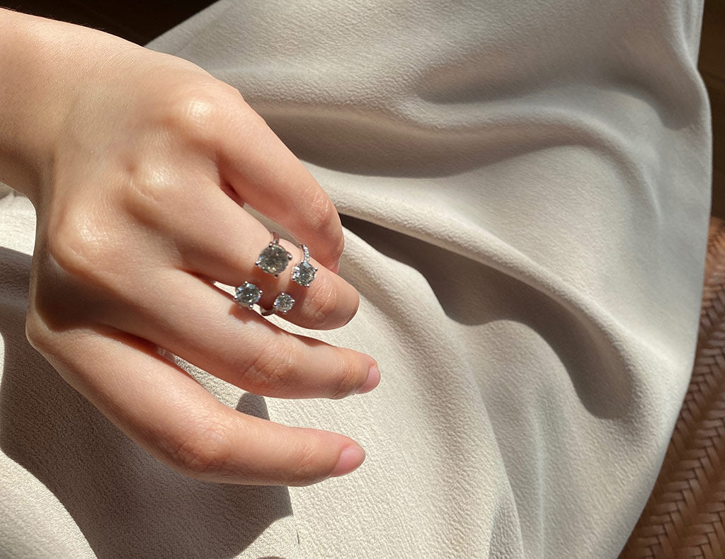 Affordable Engagement Rings with Two Diamonds
