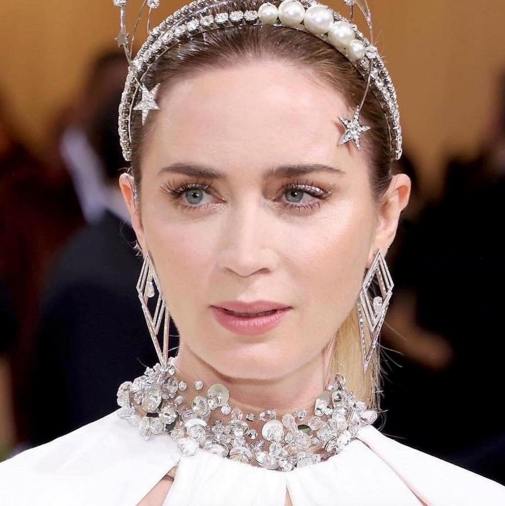 Emily Blunt wears Messika at the 2021 Met Gala