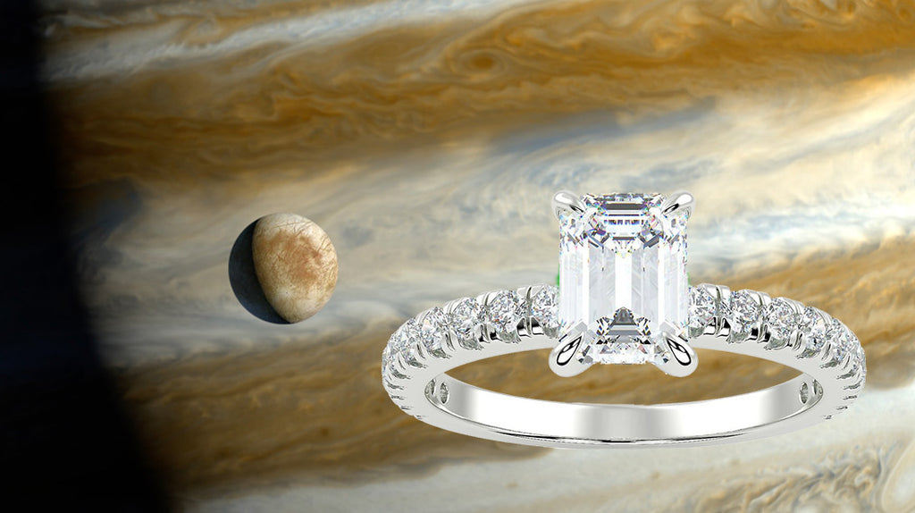 Europa and Jupiter and Europa Ring