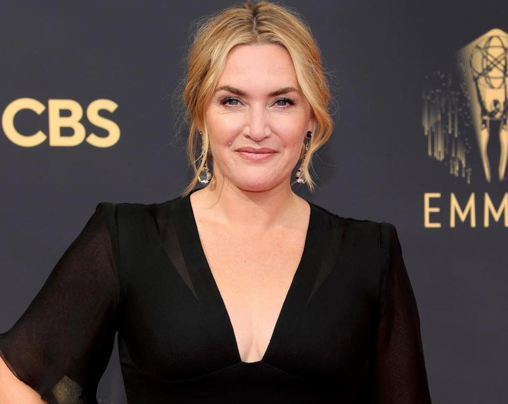Kate Winslet wears Fred Leighton jewelry to the 2021 Emmy Awards