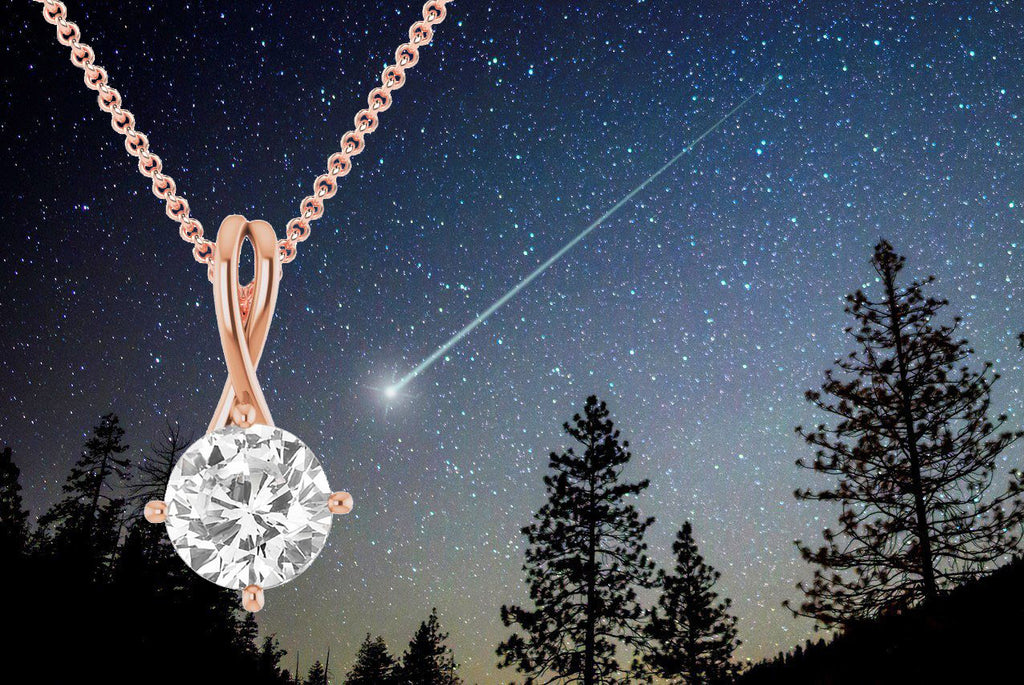 Shooting Star and Shooting Star Necklace