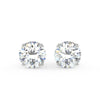 Sirius Stud Earrings in White Gold