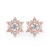 Supernova Earrings in Rose Gold (1.00 Ct. Tw.)