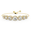 Pleiades Bolo Bracelet in Yellow Gold